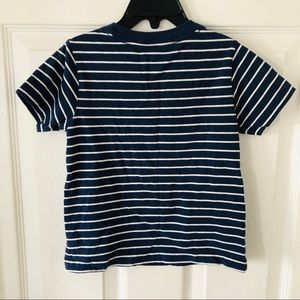 Polo by Ralph Lauren Shirts & Tops - Polo Ralph Lauren navy striped short sleeve shirt